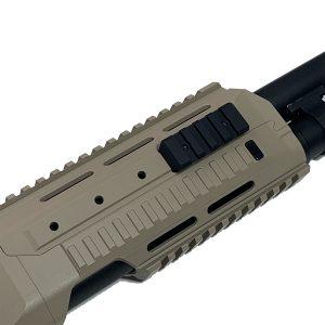 Short rail for M127 Kriger shotgun