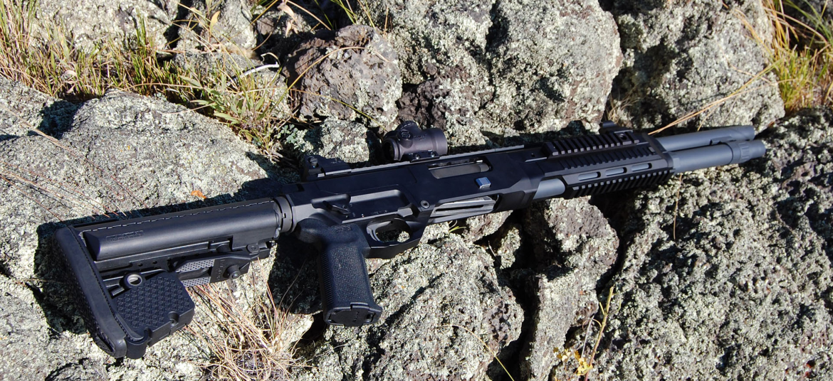M127 Kriger shotgun by Asgard Defense Systems